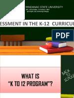 ASSESSMENT K12 Report.pptx