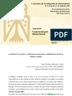Ocultamiento- Tergiversación y Rehabilitación de La Obra de Santiago Avendaño_Jiménez Juan Francisco y Sebastián Alioto