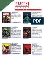 Novedades Marvel de Panini para Agosto de 2019