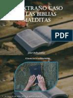 Javier Ceballos Jiménez - El Extraño Caso De Las Biblias Malditas