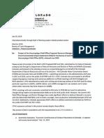 Colorado Protest Letter on Uncompahgre Field Office Final RMP