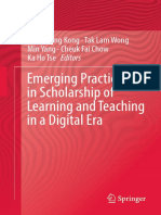 Emerging Practice in Scholarship of Learning and Teaching in a Digital Era