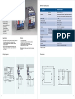 Catalogue Motor Protection Relay MPR200nX