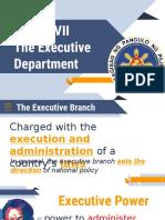 Politics Executive Department