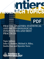 Fractal Analyses Statistical and Methodological Innovations and Best Practices