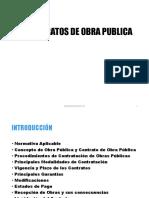 Diplomado Marco Legal 3.1 Contratos Obra Publica