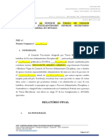 19 - Modelo de Relatório Final
