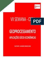 Apresentação Workshop Geoprocessamento