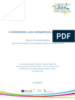 Rapport Danalyses Et Recommandations Des Acteurs de LOSP-JEEP Rapport Des Tables Thmatiques de Laprs-midi
