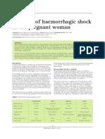 Shock hemoragik