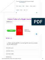 Future Value of a Single Amount MCQs _ Accountancy Knowledge