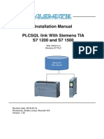 PLCSQL PLC TIA V14 Installation Manual V1 3