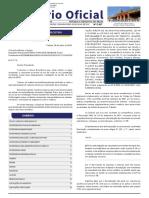 Diário Oficial do Estado do Tocantins - Edição 29/07/19