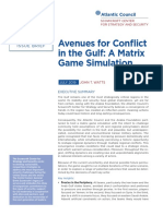 Avenues for Conflict in the Gulf