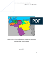 Venezuela. Sector Electrico. Estimacion Consumo de Combustibles