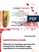 5º Basico Genero Lirico 2019