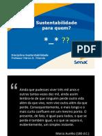 Sustentabilidade - Aula 4