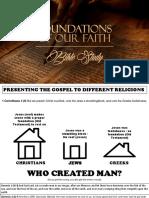building a biblical foundation