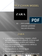Zara Supply Chain Model