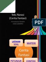 PPT teks cerita fantasi