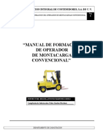 Manual Del Montacarga Convencional