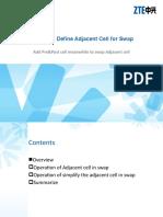 GSM Dual Define Adjacent Cell for Swap
