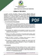 Edital de Maruim - Modificado Em 29.07.2019