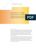 WP FM Continuous Cyber Situational Awareness