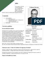 Wolfgang Schwanitz - Wikipédia, A Enciclopédia Livre