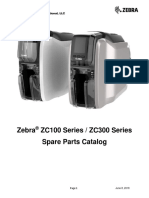 Zebra ZC100/ZC300 Series - Spare Parts Catalog