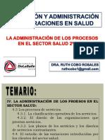9a Sesión PyAOS La Administración de los Procesos en el Sector Salud 2a Parte
