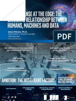 Making Sense at the Edge - Relationship between Humans Machines and Data