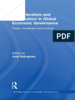 Multilateralism and Regionalism in Global Economic Governance