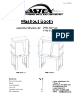 washout booth