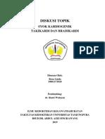 DT Syok Kardiogenik, Takikardi Dan Bradikardi