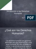 Presentación Introducción a los DDHH