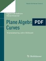 2012 Book PlaneAlgebraicCurves