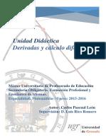 TFM - Unidad Didáctica Derivadas.pdf