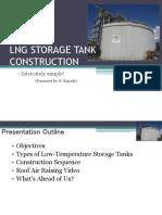 LNG Storage Tank Construction