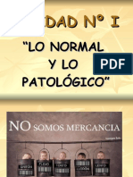 lo normal y lp patologico