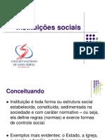 Instituições Sociais