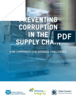 Preventing Corruption in The Supply Chain