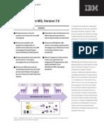 WebSphere MQ V7 Data Sheet