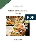 Plan de Negocio Buffet Restaurant