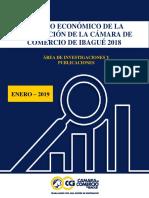 Estudio Económico de La Jurisdicción de La Cámara de Comercio de Ibagué 2018