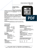 MRA459 Datenblatt Dt
