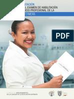 Guía de Orientación Para Rendir El Examen de Habilitación Para El Ejercicio Profesional de La Carrera de Enfermería