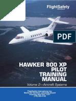 Manual Hawker 800 XP