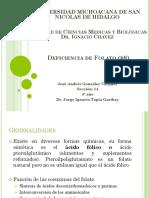 Deficiencia de Folato (b9)
