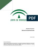 MAD [PROY] Manual Administracion